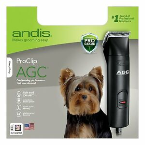 New Andis Professional Pet Clipper Kit In Storage Case