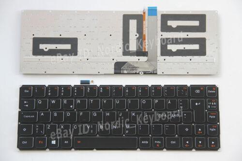 For Lenovo Yoga 3 Pro 1370 Keyboard Danish Swedish Finnish Norsk Nordic Backlit