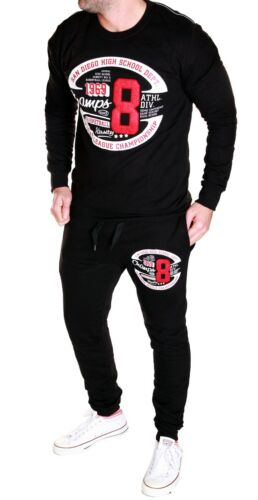 Men/'s Tracksuit Jogging Pants Trackies Trackies Basketball Fitness New