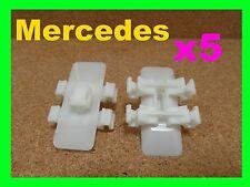 5 Mercedes Benz Vito door card body moulding fascia trim panel fastener clips