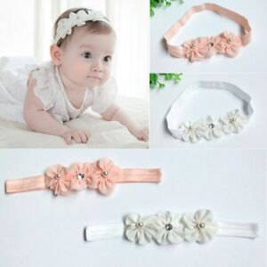 100% True Cute Baby Headband Newborn Infant Toddler Girl Flower Hair Accessories Traveling Clothing, Shoes & Accessories