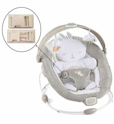 1 White Harness Seat Clip For Ingenuity Inlighten Bouncer Infant Baby Swings New Complete In Specifications