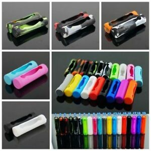 Soft-Silicone-Sleeve-Cover-Case-For-18650-Battery-tective-Bag-Pouch