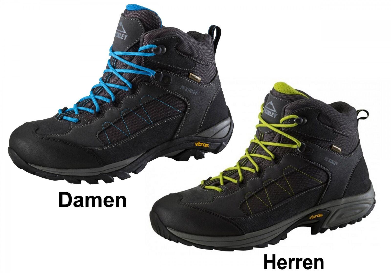 McKinley Leder Trekking MID Wander Outdoor Stiefel Denali MID Trekking Stiefel Schuhe Vibram 0955c4