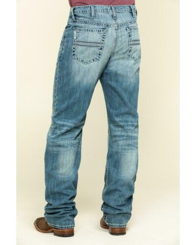 MB92834037 Cinch Men/'s White Label Light Stone Relaxed Straight Jeans