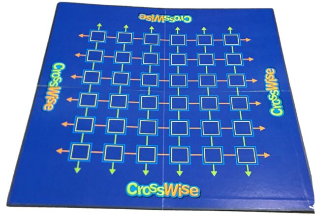CROSSWISE Game Replacement Pieces Parts GAME BOARD ONLY