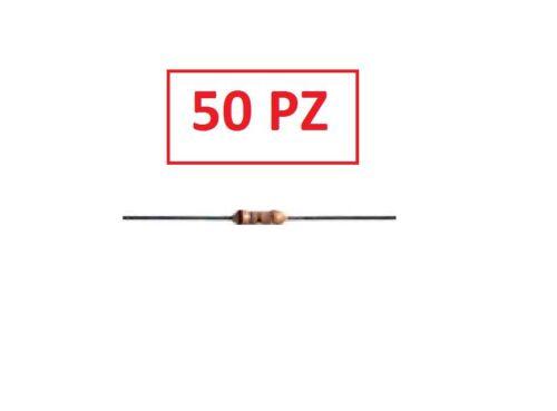 50 PZ CONF RS RESISTENZA 2 W 5/%  120 ohm A STRATO DI CARBONE
