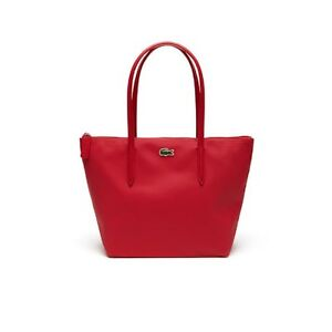 1e5fff86a9 LACOSTE L.12.12 Concept Medium Small Shopping Bag Virtual Pink ...