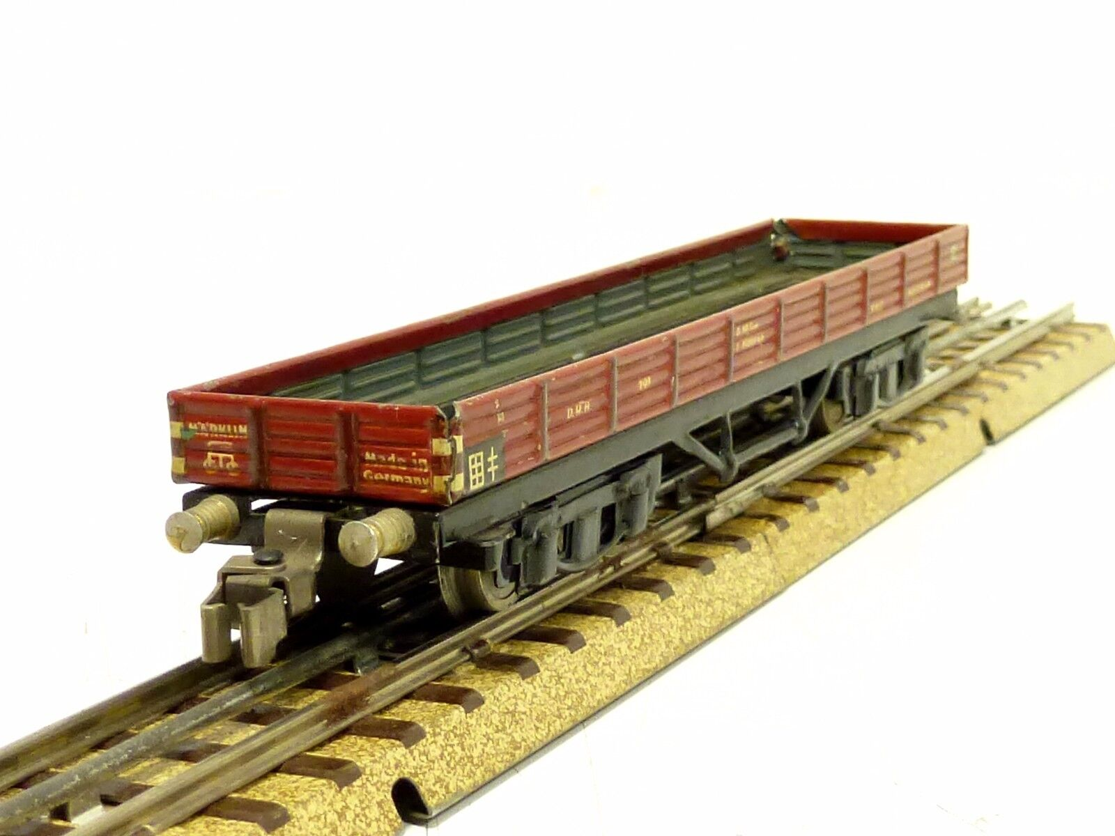 Märklin 391 Long Down Board Wagon only 1938 Claws Clutch Top 800