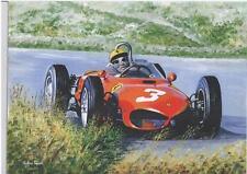 Ricardo Rodriguez  'Sharknose' Ferrari art print