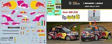 DECAL  1/43 -  OPEL  ADAM   -  MOLINARO  -  ADAC  Rally   2016