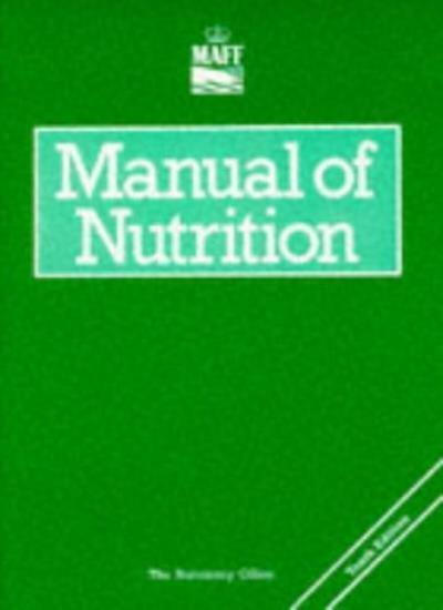 Manual of Nutrition (Reference Books) By Fish.& Food Agriculture