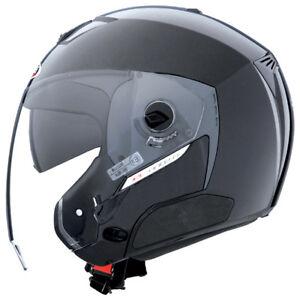 Caberg Jet Metal Black Cruiser Scooter Motorcycle Helmet Clearance