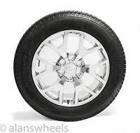Chevy Tahoe Suburban Chrome 20 Wheels Rims Michelin Tires Tpms & Lugs 5656