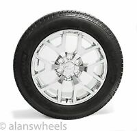 Chevy Tahoe Suburban Chrome 20 Wheels Rims Michelin Tires Tpms & Lugs 5656