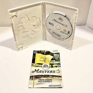 Tiger Woods PGA TOUR 12: The Masters - Nintendo Wii Clean, Complete & Tested