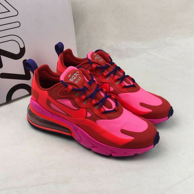 Nike Women's Air Max 270 React Mystic Red Bright Crimson At6174 600 Size 6