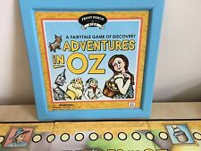 ADVENTURES IN OZ, Wizard of Oz Game In Wooden Box Front Porch Classics Age 5+