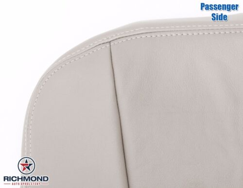 Passenger Bottom Perforated Leather Seat Cover Tan 2005 2006 2007 Cadillac SRX