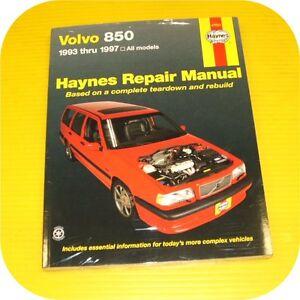 repair manual book volvo 850 93 97 wagon sedan b5254 ebay rh ebay com 1993 Volvo 850 GLT Specifications 95 Volvo 850 PVC Parts