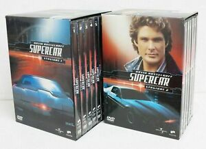 SUPERCAR-David-Hasselhoff-Stagione-1-e-2-Complete-n-14-DVD-Abbinam-Editoriale