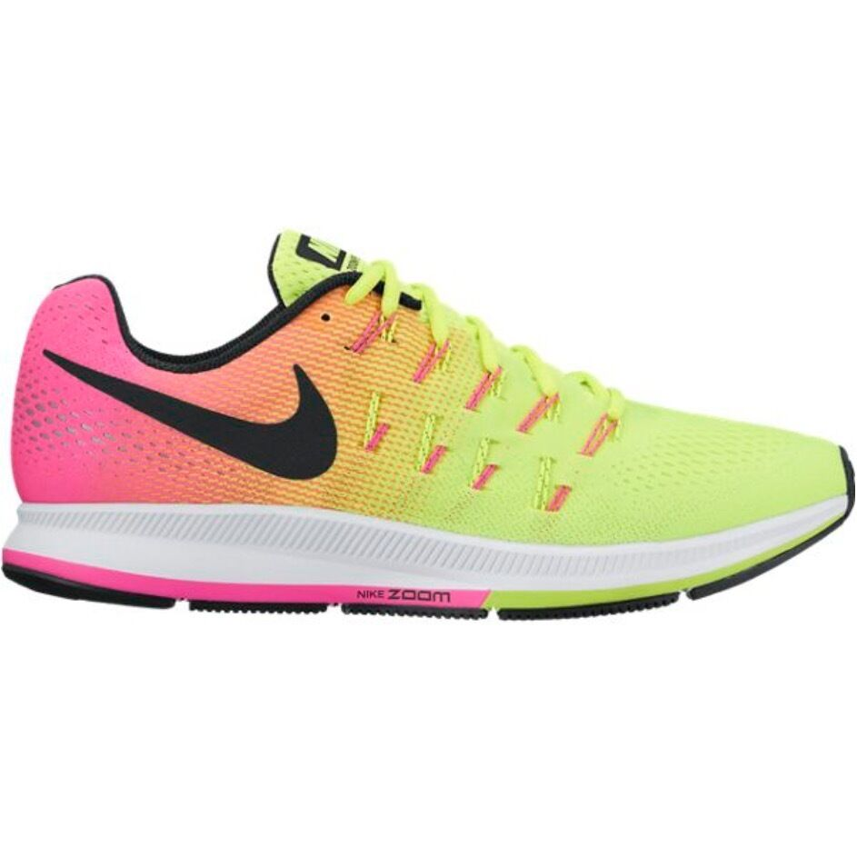 NEW femmes Nike Air Zoom Pegasus 33 OC Olympic 2018 Multi-Color 846328-999 RARE