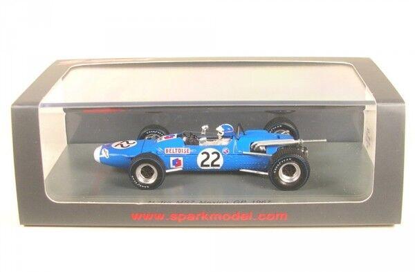 Matra MS7 no. 22 7th Mexican GP Formula 1 1967 (Jean-Pierre Beltoise)