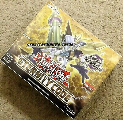 Factory Sealed Free Shipping! Yu-Gi-Oh Eternity Code 1st Edition Booster Box