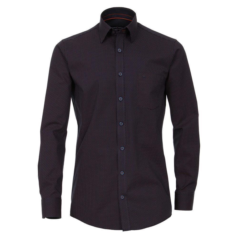 Casa Moda modisches Herren Hemd mit Minimal Print Comfort Fit  | Hochwertige Produkte
