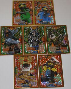 Lego-Ninjago-Serie-4-7x-LE-Karten-LE-2-LE-3-LE-6-LE-7-LE-9-LE-23-LE-24-NEU