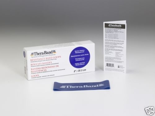 Thera-Band® Loop 7,6cm x 20,5cm Theraband blau