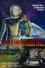The Day the Earth Stood Still 24x12 24x45inch 1951 Old Movie Silk Poster