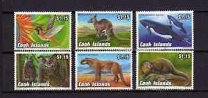 16302) Cook Isl. MNH New 1993 Animals 6v