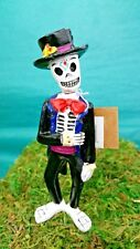 17654 Closeout Dollhouse Miniature Halloween Day Of Dead Groom