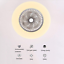 Ventilador-de-Techo-con-Lampara-LED-36W-Creativo-Invisible-Control-Remoto miniatura 2