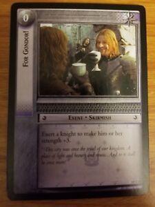 Lord of the Rings TCG Treachery and Deceit 18U46 Disarmed LOTR CCG