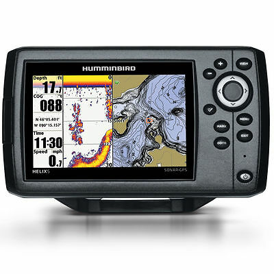 **NEW Humminbird Helix 5 CHIRP Sonar/GPS Combo G2 410210-1