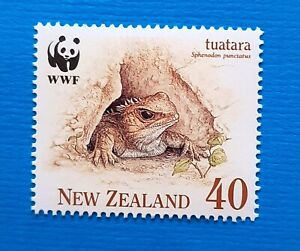 Tuatara-WWF-WNF-New-Zealand-MNH-postfris-Sphenodon-punctatus-31