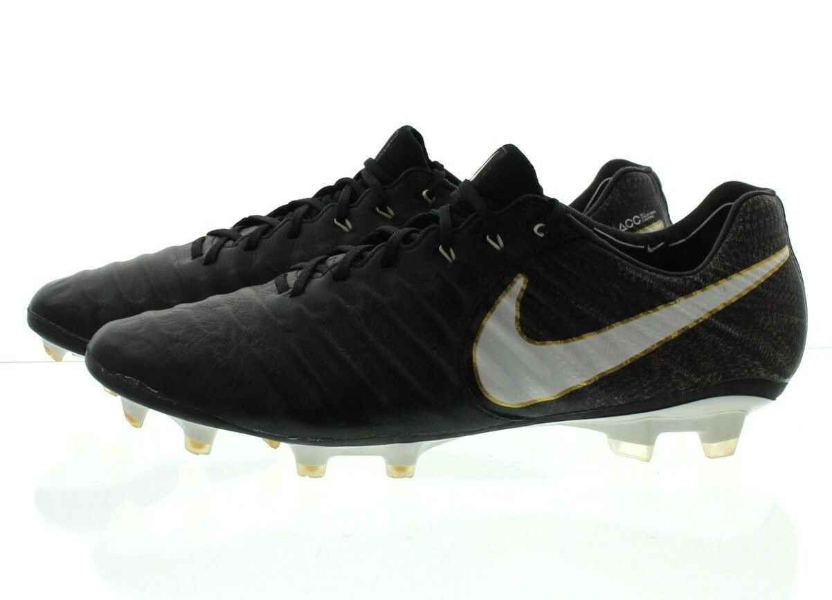 Nike 897752 Mens Tiempo Legend VII Firm Ground Low Top Soccer Cleats shoes