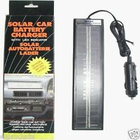 Keep Your 12 Volt Battery Charged With Solar Charger Free Ship In Usa