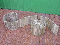 Beetumrandung Beeteinfassung 200 X 20cm Palisade Rasenkante Imprägniert