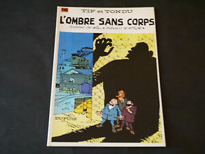 WILL-TIF-ET-TONDU-N-16-L-039-OMBRE-SANS-CORPS-EDITION-1983