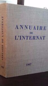 Annuario Di L Internat 1967 Medicina e Chirurgia Arnette Parigi 18EME Edit. Be