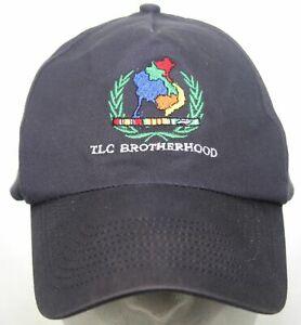 Vintage TLC Thailand, Laos, Cambodia Brotherhood Fraternity Baseball Hat KC Cap