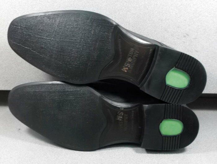 152665 MS50 Men's Shoes Size 9 W Black Leather Lace Up Johnston & Murphy