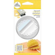 SCALLOP OVAL Large Slim Profile Paper Punch by EK Success