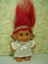"CHRISTMAS ANGEL - 3"" Russ Troll Doll - NEW IN ORIGINAL WRAPPER"