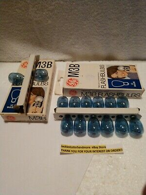 General Electric M3b Flashbulbs Set Of 12 Plus 2 Pure En Milde Smaak