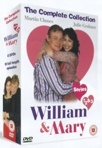 Nuovo William E Mary Serie 1 A 3 Collezione Completa DVD