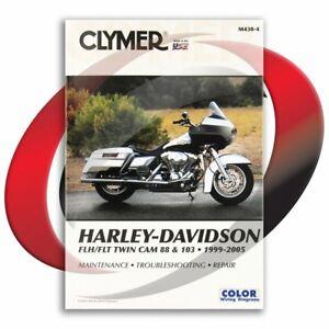 1999-2005-Harley-Davidson-FLHRCI-ROAD-KING-CLASSIC-Repair-Manual-Clymer-M430-4